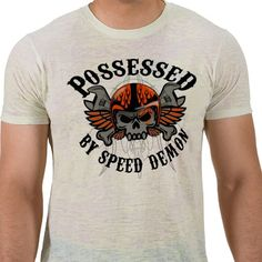 SPEED DEMON  Do you feel it?  Vintage Speed Demon biker style design on t shirts, hoodies,sweatshirts, clocks, and many other gifts. Perfect gifts for the racing and horsepower lover in your life.