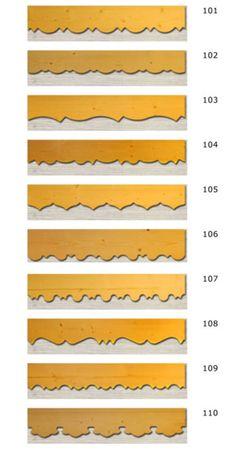 frises en sapin bois sculpte frise decorative planches de rives palines bois balcon en bois