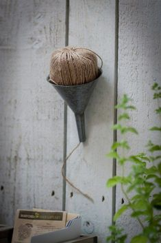 gifts-for-potting-shed-funnel-garden-trading-gardenista.(Diy Garden Shed) Garden Projects, Garden Tools, Garden Sheds, Shed Conversion Ideas, Concrete Sheds, Shed Landscaping, Shed Organization, Organizing, Home And Garden Store