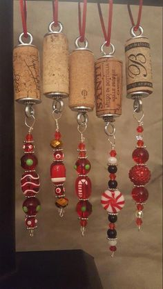 Wine Corker With Corks #winered #WineCorker Wine Cork Ornaments, Wine Cork Crafts, Bottle Crafts, Wine Corker, Wine Bottle Charms, Wine Bottles, Bottle Candles, Bottle Necklace, Beer Bottle