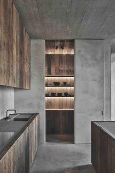 Modern Interior Design, Interior Styling, Interior Architecture, Interior And Exterior, Loft Kitchen, Kitchen Interior, Loft Interiors, Office Interiors, Küchen Design