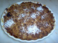 Devaneios Culinários da Tiazinha: Crumble de Maçã com framboesas à minha maneira