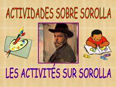 actividades-sobre-sorolla-introduccin by jualopmar via Slideshare Latino Artists, Baseball Cards, Paintings, Kid Art, Xmas, Activities, Artists, Projects, Water