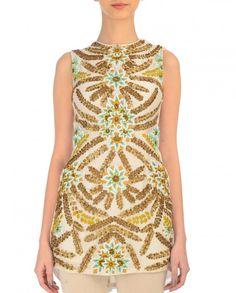 White Sleeveless Tunic - Samant Chauhan - Designers