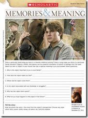 WarHorse Worksheet C FREE War Horse Movie Worksheets #homeschool