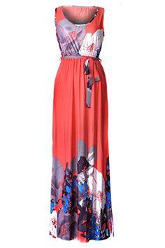61b8845874110 Chic Women s Bohemian Summer Smocked Jersey Maxi Dress - My Free Spirit  Boutique