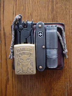 "everydaycarryuk: "" Wallet SOG Paratool Zippo City Pioneer NiteCore EX10 """