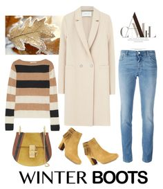 """""""Camel"""" by pamela-802 ❤ liked on Polyvore featuring Harris Wharf London, Tabitha Simmons, Givenchy, MaxMara, Chloé and winterboots"""