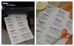 bricolage - etiquettes bocaux 1