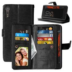 Köp Dubbelflip Flexi Sony Xperia X Compact Caseonline. Visa Card, Sony Xperia, Compact, Wallet, Cards, Maps, Playing Cards, Purses, Diy Wallet