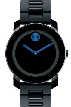 Movado Watch Black & blue – not my ideal, but I wouldn't send it back if it showed up at my house. | best stuff