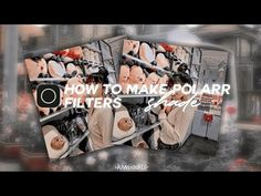 💫 how to make polarr filter #6 - YouTube Filters, Youtube, How To Make, Creativity, Pictures, Youtube Movies