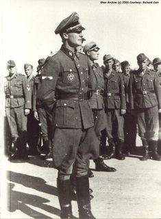 Via Hitler's Warrior Ww2 Uniforms, German Uniforms, German Soldiers Ww2, German Army, Luftwaffe, Joachim Peiper, Army History, The Third Reich, Panzer