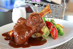Fulfill your appetite with our tasty Australian Lamb Shank braised with nutritious herbs and red wine sauce, complemented with mashed potato and garden vegetables.  Available at The Lounge & Mezzanine Restaurant only Rp 165.000++/portion.  For more info & RSVP  please call +6221-29215999