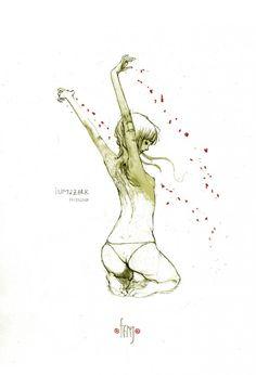 Стильные иллюстрации Gabriel Iumazark  http://www.inspireme.ru/post/66454