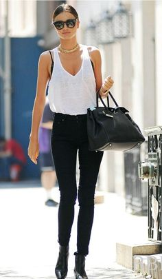 Street-Style   /   Miranda Kerr