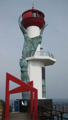 Lighthouse, Yeongdeok Blue Road, South Korea - by AppleSister
