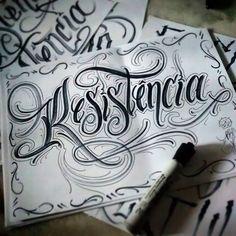 Chicano Tattoos Lettering, Tattoo Lettering Styles, Cursive Tattoos, Tattoo Design Drawings, Tattoo Script, Tattoo Fonts, Calligraphy Fonts Alphabet, Hand Lettering Alphabet, Script Lettering