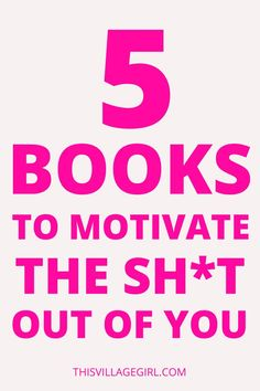 You want to change your life but you don't know where to get the motivation and the inspiration. With the world changing, these 5 books will not just motivate the sh*t out of you. they will also change your life. #bookstoread #nonfictionbooks #personalgrowth #lifechangingbooks