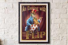 Digital painting: Mr Flip de Little Nemo - http://ift.tt/24QsjBq