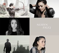 THE THRONE OF GLASS WOMEN we need more nesryn...I mean who is she??? Development needed!!
