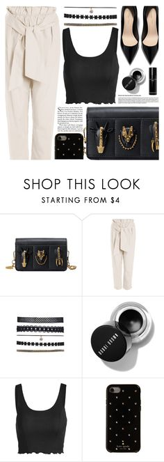 """""""Date Look"""" by pastelneon ❤ liked on Polyvore featuring Kate Spade and Bobbi Brown Cosmetics"""