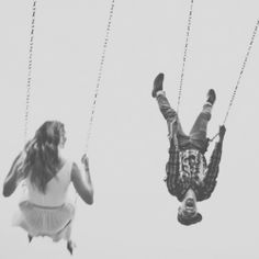 Quite possibly my favourite ever engagement shoot ~ you have to see the shots of them on the swings!