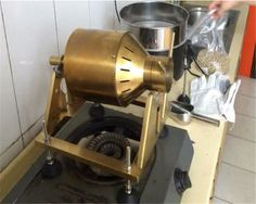 Nuvo Eco Ceramic Handy Coffee Bean Roaster Home Camping Easy Roasting Tool