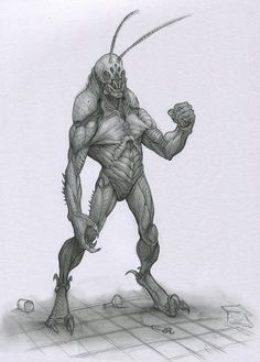 Self Experiment by Mavros-Thanatos monster beast creature animal | Create your own roleplaying game material w/ RPG Bard: www.rpgbard.com | Writing inspiration for Dungeons and Dragons DND D&D Pathfinder PFRPG Warhammer 40k Star Wars Shadowrun Call of Cthulhu Lord of the Rings LoTR + d20 fantasy science fiction scifi horror design | Not Trusty Sword art: click artwork for source