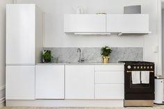 Kitchen. Marmor.