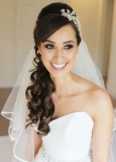 Bride Hairstyle Long Hair Down Wedding Hairstyles For Long Hair Down With Veil Black Hair