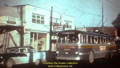 Bronson Trolley Bus Cheap Lipstick, Ottawa, Ontario, Canada, Urban, History, Retro, Photos, Historia