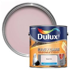 Dulux Easycare Denim Drift Matt Emulsion Paint - B&Q for all your home and garden supplies and advice on all the latest DIY trends Dulux White, Chic Shadow, Polished Pebble, Banana Split, Willow Tree, Paint Stain, Stain Colors, Dulux Paint Colours Pink, Wall Colors