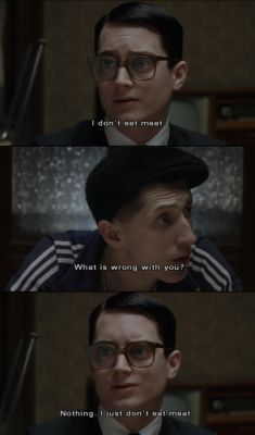 everything is illuminated that part was pretty funny!