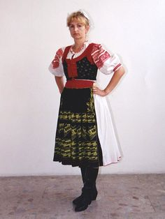 Central Slovakia - Podkonice Folk Costume, Costumes, Lace Skirt, Faces, Skirts, Fashion, Moda, Dress Up Clothes, Costume