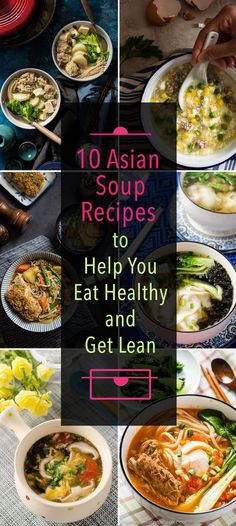 the 4 Cycle Solutions Japanese Diet - 10 Asian soup recipes to help you eat healthy and get lean Diet Recipes, Cooking Recipes, Healthy Recipes, Stop Eating, Clean Eating, Healthy Soup, Healthy Eating, Chinese Soup Recipes, Asian Dinner Recipes