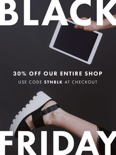 We're over here celebrating Black Friday, Shop Small Saturday and Cyber Monday... Take 30% off our entire shop now through Monday. Snag your modern, minimal blog theme or website design, and plenty of social templates to create a cohesive look for your blog and business.