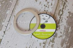 Another goody from Lisa of Tout Petit Pixel Photographie.  These discs and cases are so cute!