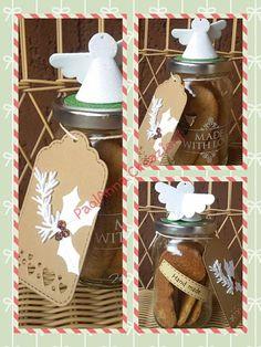 vaso biscotti natalizi