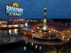 Broadway at the Beach offers great places to grab a bite to eat, shopping, nightlife and other fun things to do! Check out VisitMyrtleBeach.com for information about the entire Myrtle Beach, South Carolina area!