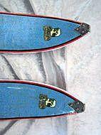 Holzski Poppa Oberwiesental Ski Equipment, Alpine Skiing, Vintage Ski, Neue Trends, Kayaking, Skateboard, Retro, Skateboarding, Kayaks