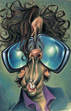 [ Tim Burton ] - artist: Joan Vizcarra - website: http://www.vizcarra.info _____________________________ Reposted by Dr. Veronica Lee, DNP (Depew/Buffalo, NY, US)
