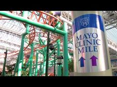 Check out the Mayo Clinic Mile: 1 mile, 5K and 10K walking paths around Mall of America.