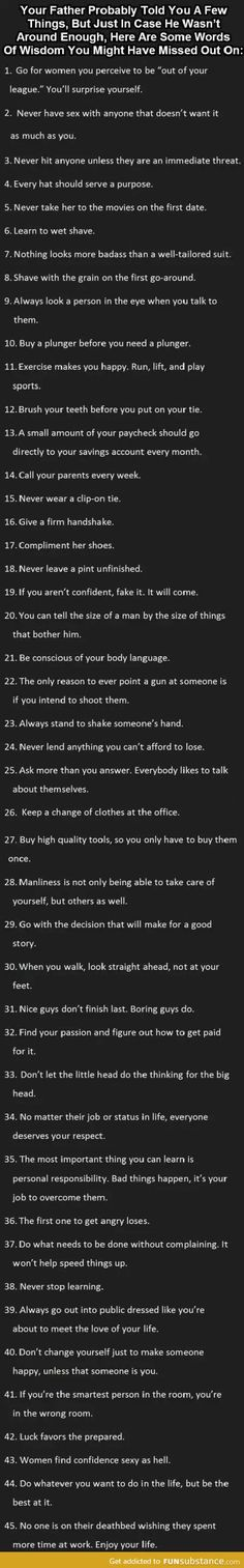 .these are tips for guys, but some of them are pretty relevant to everyone