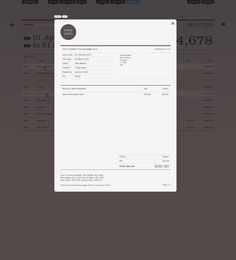 Invoice design by ThriveSolo.com