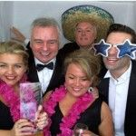 TV Stars and Colleagues Enjoy Fun Of Photo Booth at TV Awards