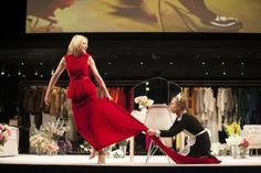 Cate Blanchett and Isabelle Huppert in Sydney Theatre Company's The Maids. Image by Lisa Tomasetti 2013