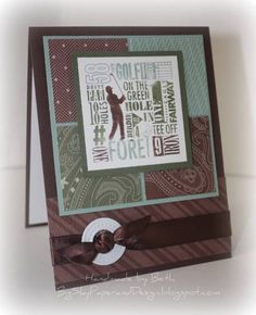 TLC329, On The Green... by bigsky - Cards and Paper Crafts at Splitcoaststampers