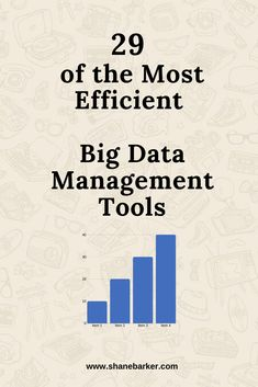 Managing big data can be quite a task. To make it simpler, you can use data management tools. Here are some of the best ones that you can use for your business. Better One, Data Science, Business Management, Big Data, Business Tips, Productivity, Infographics, Make It Simple, Digital Marketing