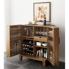 Pottery Barn Bar Cabinet | Drink | Pinterest | Pottery barn bar ...